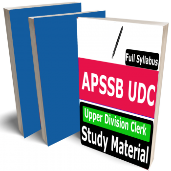 APSSB UDC Study Material (Topic-wise), Buy Full Syllabus Books  Upper Division Clerk, Best Handwritten Toppers Notes