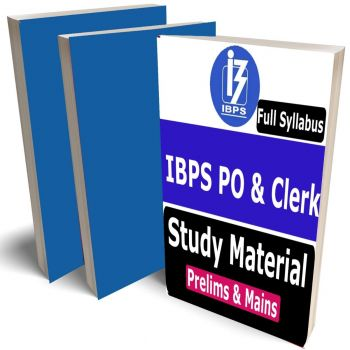 Bank IBPS PO and Clerk Topper's complete Study Material, Buy Full Syllabus Covered Books (The Best Study Notes)