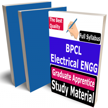 BPCL Electrical Engineering Graduate Apprentice Study Material (Topic-wise), Buy Full Syllabus Covered Best Handwritten Toppers Notes