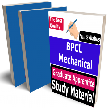 BPCL Mechanical Engineering Graduate Apprentice Study Material (Topic-wise), Buy Full Syllabus Covered Best Handwritten Toppers Notes