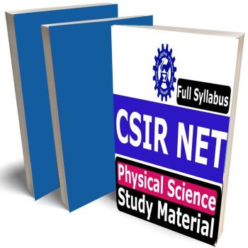 CSIR NET Physical Science Study Material, Buy Full Syllabus Covered Books (Best Handwritten toppers notes), Latest Edition