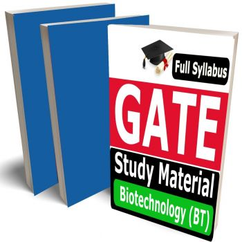 GATE Biotechnology Study Material (BT) Lecture Notes (Topic-wise) Buy Online Full Syllabus Covered Books (Study Notes)