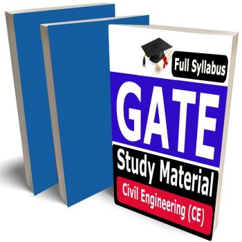 GATE Civil Engineering Study Material (CE) Lecture Notes (Topic-wise) Buy Online Full Syllabus Covered Books (Study Notes)