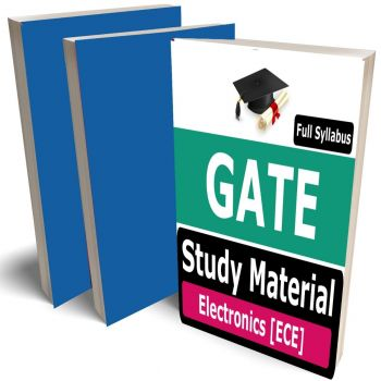 GATE ECE Study Material Lecture Notes (Topic-wise) Buy Online Full Syllabus Covered Books (Study Notes)(Electronics & Communication Engineering)