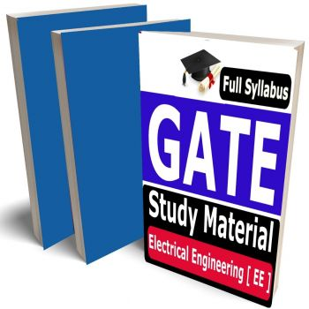 GATE Electrical Engineering Study Material (EE) Lecture Notes (Topic-wise) Buy Online Full Syllabus Covered Books (Study Notes)