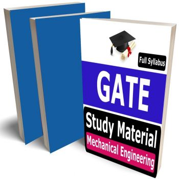 GATE Mechanical Engineering Study Material (ME) Lecture Notes (Topic-wise) Buy Online Full Syllabus Covered Books (Study Notes)