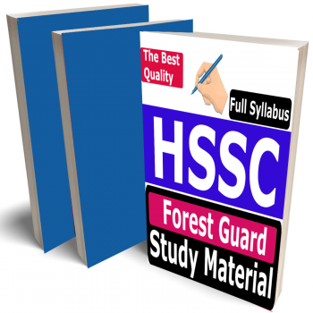 HSSC Forest Guard Study Material (Topic-wise), Buy Full Syllabus Covered Best Handwritten Toppers Notes (Vanarakshak)