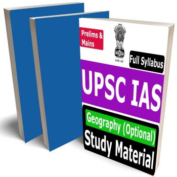 IAS Geography (Optional) Study Material (UPSC Civil Services Mains Exam), Buy Full Syllabus Books (Best Handwritten Toppers Notes)