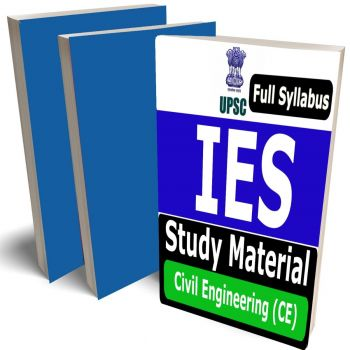 IES Civil Engineering Study Material (CE) Lecture Notes (Topic-wise) Buy Online Full Syllabus Covered Books (Study Notes)(GATE, ESE, PSU)