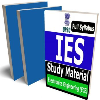 IES Electronics Engineering Study Material (ECE) Lecture Notes (Topic-wise) Buy Online Full Syllabus Covered Books (Study Notes)(GATE, ESE, PSU)