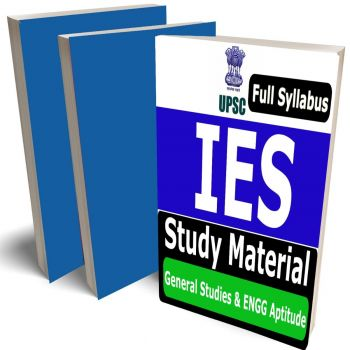 IES General Studies and Engineering Aptitude Study Material (Topic-wise) Buy Online Full Syllabus Covered Books (Study Notes)(UPSC ESE)