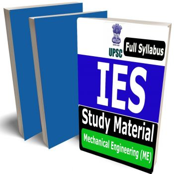IES Mechanical Engineering Study Material (ME) Lecture Notes (Topic-wise) Buy Online Full Syllabus Covered Books (Study Notes)(GATE, ESE, PSU)