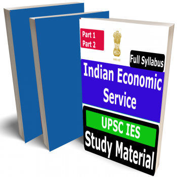 Indian Economic Service (UPSC IES) Study Material (Topic-wise), Buy Full Syllabus Books (Best Handwritten Toppers Notes)