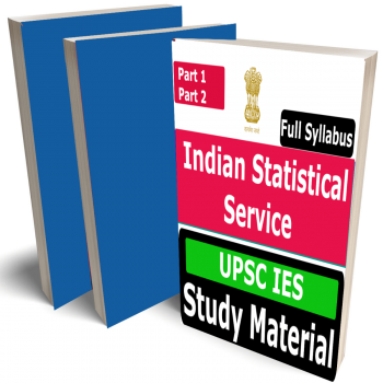 Indian Statistical Service (UPSC IES) Study Material (Topic-wise), Buy Full Syllabus Books (Best Handwritten Toppers Notes)