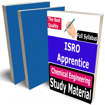 ISRO Apprentice Chemical Engineering Study Material (Topic-wise), Buy Full Syllabus Covered Best Handwritten Toppers Notes (CH)
