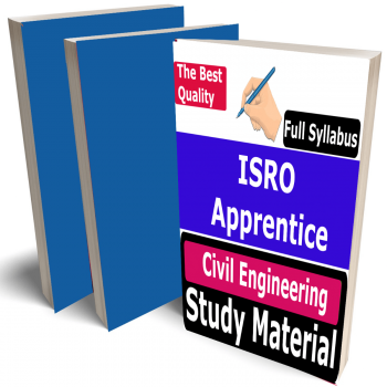 ISRO Apprentice Civil Engineering Study Material (Topic-wise), Buy Full Syllabus Covered Best Handwritten Toppers Notes (CE)
