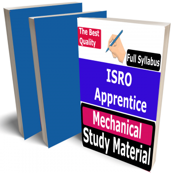 ISRO Apprentice Mechanical Study Material (Topic-wise), Buy Full Syllabus Covered Best Handwritten Toppers Notes