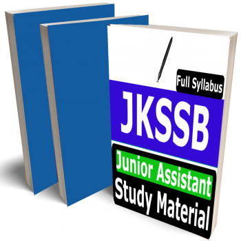 JKSSB Junior Assistant Study Material (Topic-wise), Buy Full Syllabus Books (Best Handwritten Toppers Notes)