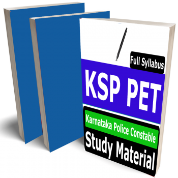 Karnataka Police Constable Study Material (Topic-wise), Buy Full Syllabus Books (KSP PET) (Best Handwritten Toppers Notes)