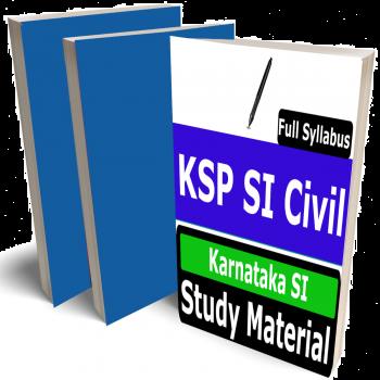 KSP SI Civil Study Material (Topic-wise), Buy Full Syllabus Books Karnataka SI, Best Handwritten Toppers Notes