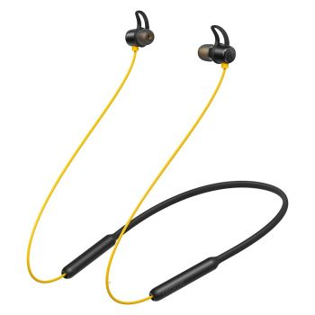 Realme Buds Wireless Bluetooth Headset Real Sound In-Ear Earphones with Mic (Yellow)