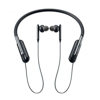 Samsung U Flex Bluetooth Earphones with Built-in Mic (EO-BG950, Black)