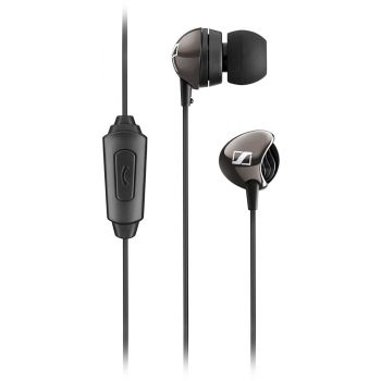 Sennheiser CX275 S Earphones Universal Mobile Headset In-Ear with Mic Headphone (Black)