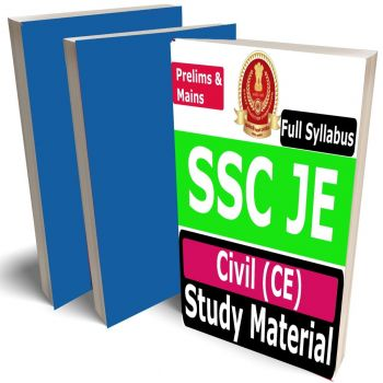 SSC JE Civil Study Material (CE), Buy Full Syllabus Covered Handwritten toppers notes Books