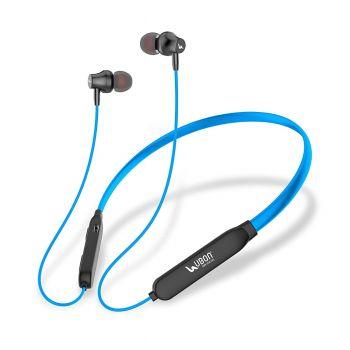 UBON BT-5250 Wireless 5.0 Neckband Earphone 15 Hours Backup Bluetooth Headset in-Ear- (Blue)