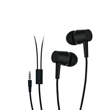 Ubon UB-790 Wired Headset,3.5MM Jack Wired in-Ear Earphone (Black)