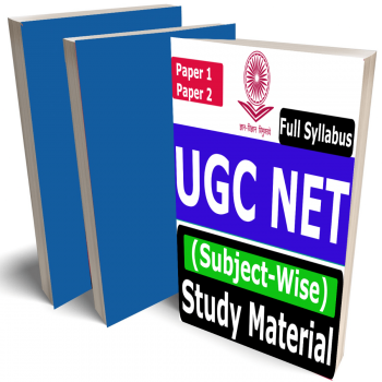 UGC NET Study Material (Subject-Wise), Buy Full Syllabus Books (Best Handwritten Toppers Notes)(Paper 1 & 2)