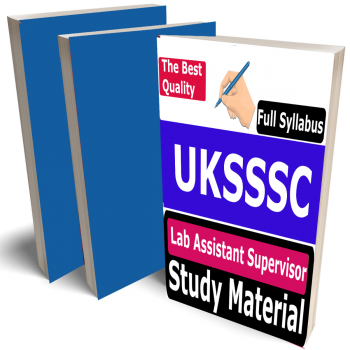 UKSSSC Lab Assistant Supervisor Study Material (Topic-wise), Buy Full Syllabus Covered Best Handwritten Toppers Notes