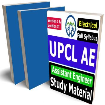 UPCL AE Electrical Study Material (Assistant Engineer - EE), Buy Full Syllabus Books (Best Handwritten Toppers Notes)(Section I & II)