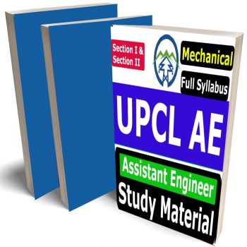 UPCL AE Mechanical Study Material (Assistant Engineer - EE), Buy Full Syllabus Books (Best Handwritten Toppers Notes)(Section I & II)