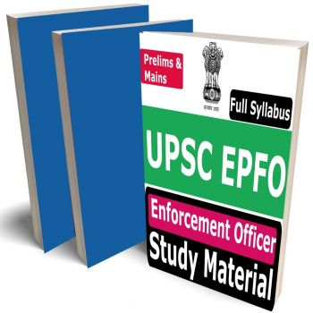 UPSC EPFO Study Material 2021, Buy Full Syllabus Covered Books (Best Handwritten Toppers Notes) (Pre & Mains)