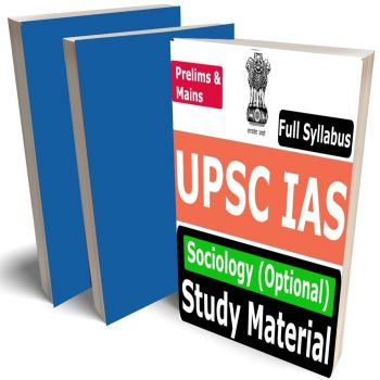 UPSC IAS Sociology Optional Study Material (Civil Services Mains Exam), Buy Full Syllabus Books (Best Handwritten Toppers Notes)
