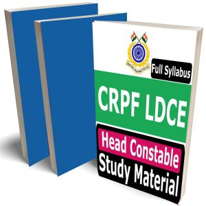 CRPF LDCE Head Constable Study Material, Buy Full Syllabus Covered Books (Best Handwritten Toppers Notes)