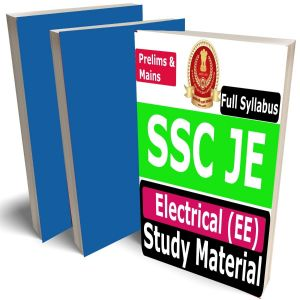 SSC JE Electrical Study Material (EE), Buy Full Syllabus Covered Handwritten toppers notes Books