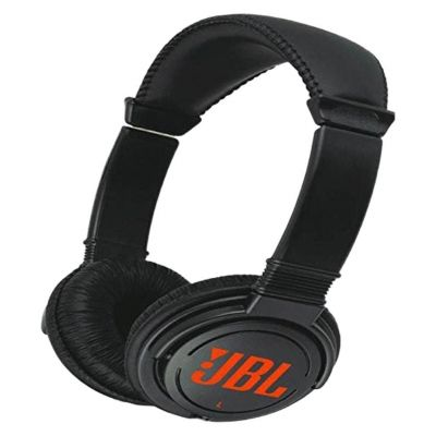 JBL T250SI Wired Headset without Mic On-Ear Headphone (Black)