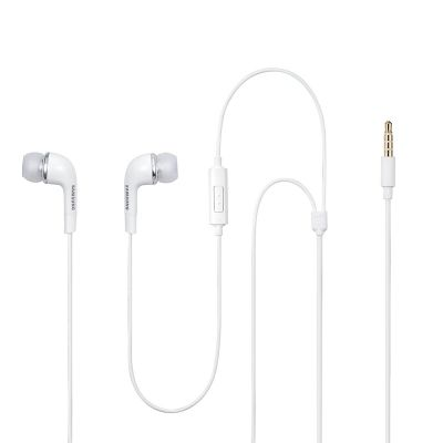 Samsung EHS64 Wired Hands-Free Stereo Headset with Remote and Mic (White)
