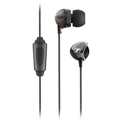 Sennheiser CX275 S Earphones Universal Mobile Headset In-Ear with Mic Headphone (Black)